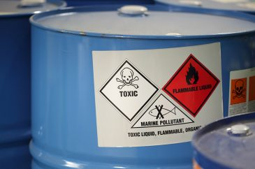 hazardous waste material management